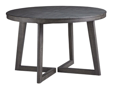 Besteneer - Dark Gray - Round Dining Room Table