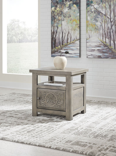 Marcilyn - Brown - Rectangular End Table