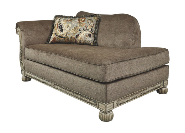 Richburg - Coffee - LAF Corner Chaise