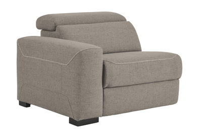Mabton - Gray - LAF Zero Wall Power Recliner