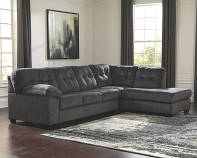 Accrington - Granite - LAF Sofa & RAF Corner Chaise Sectional