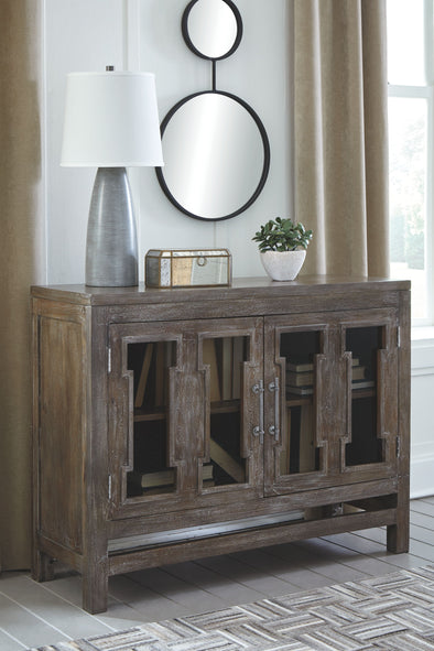 Hanimont - Brown - Accent Cabinet
