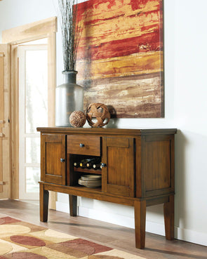 Ralene - Medium Brown - Dining Room Server