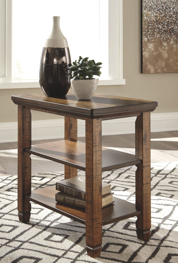 Royard - Brown - Chair Side End Table