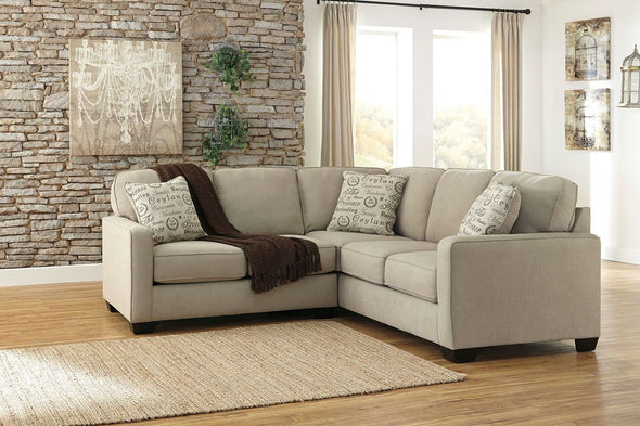 Alenya - Quartz - LAF Loveseat & RAF Sofa Sectional