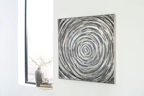 Adda - Silver/Gray - Wall Art