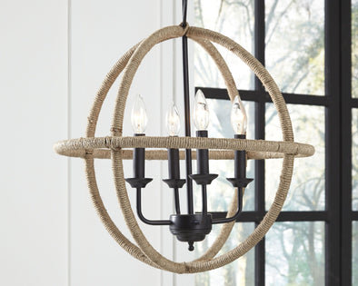 Madelia - Tan - Pendant Light (1/CN)