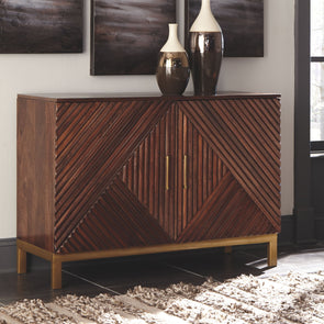 Forestmin - Medium Brown - Accent Cabinet