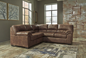 Bladen - Coffee - LAF Loveseat & RAF Sofa Sectional