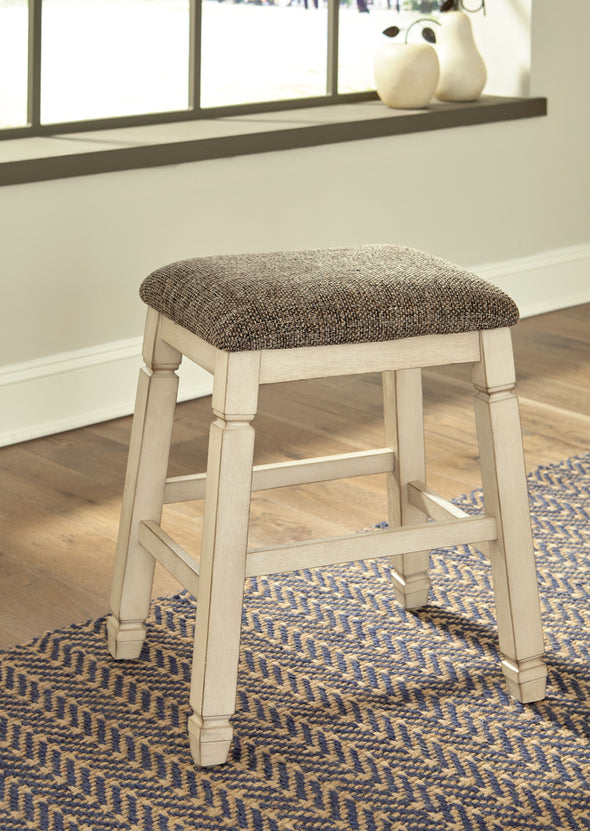 Bolanburg - Two-tone - Upholstered Stool (2/CN)