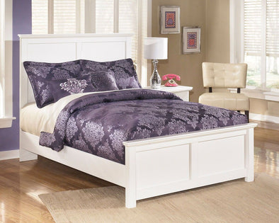 Bostwick Shoals - White -  Panel Bed