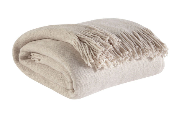 Haiden - Ivory/Taupe - Throw (3/CS)