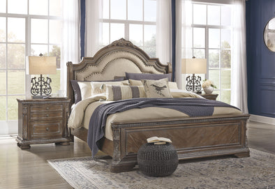 Charmond - Brown - Queen Panel Footboard