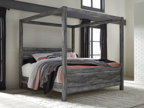Baystorm - Gray -  Canopy Bed