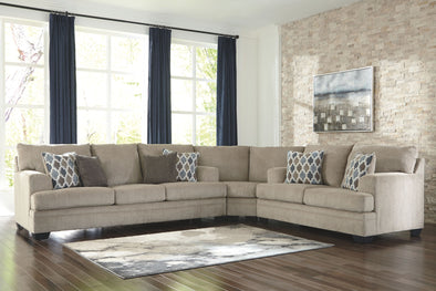 Dorsten - Sisal - Sofa, Wedge & Loveseat Sectional