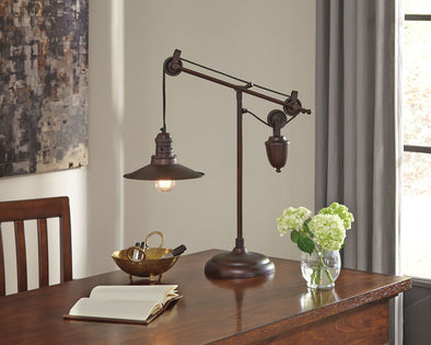 Kylen - Bronze Finish - Metal Desk Lamp (1/CN)