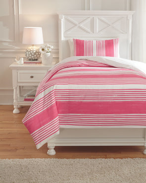 Taries - Pink -  Duvet Cover Set