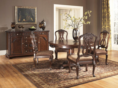 North Shore - Dark Brown - Dining UPH Side Chair
