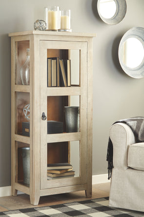Kayton - Antique Gray - Accent Cabinet