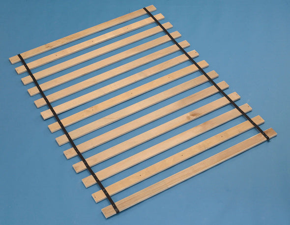 Frames And Rails - Brown - King Roll Slats