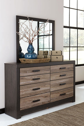 Harlinton - Charcoal - Bedroom Mirror