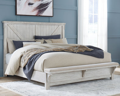 Brashland - White -  Panel Bed