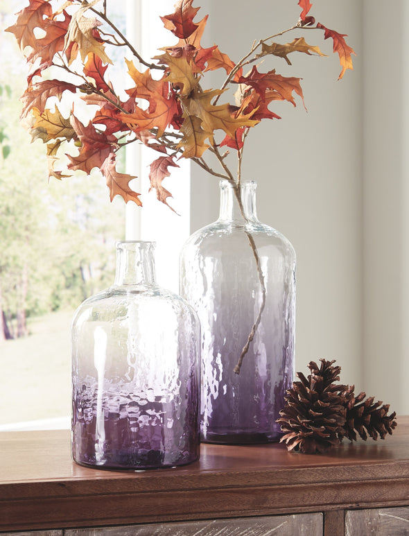 Maleah - Purple - Vase Set (2/CN)