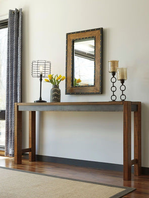 Torjin - Brown/Gray - Long Counter Table