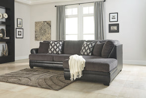Kumasi - Smoke - LAF Sofa & RAF Corner Chaise Sectional