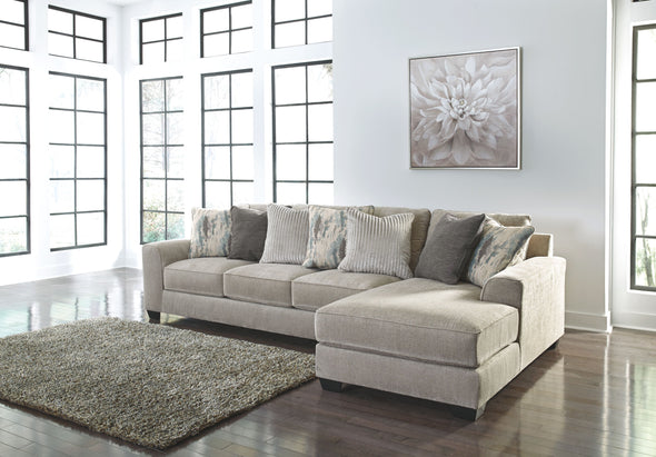 Ardsley - Pewter - LAF Sofa & RAF Corner Chaise Sectional