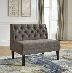 Tripton - Graphite - Large UPH Dining Room Bench