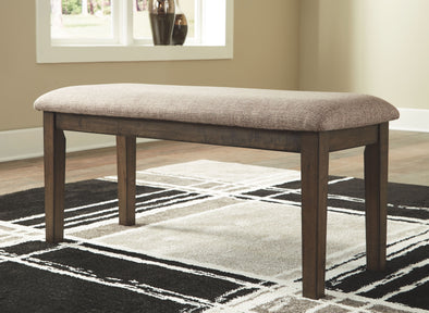 Drewing - Brown - Upholstered Bench
