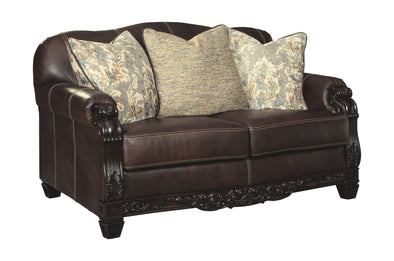 Embrook - Chocolate - Loveseat