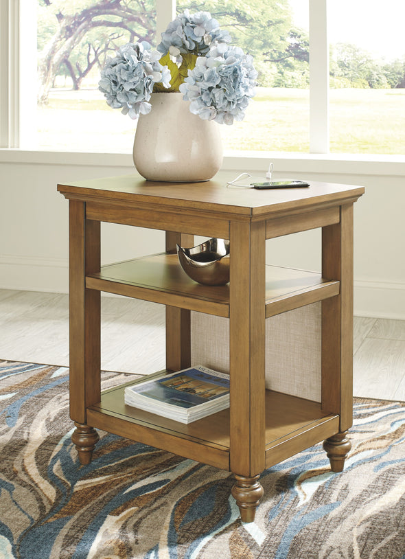Brickwell - Beige/Brown - Accent Table