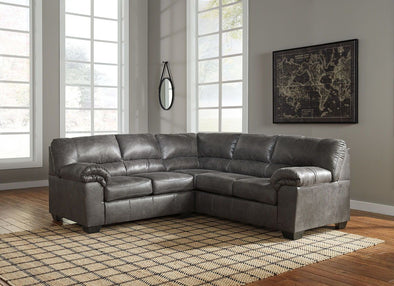 Bladen - Slate - LAF Loveseat & RAF Sofa Sectional