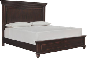 Brynhurst - Dark Brown -  Panel Bed