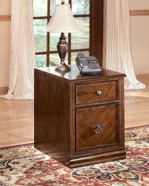 Hamlyn - Medium Brown - File Cabinet