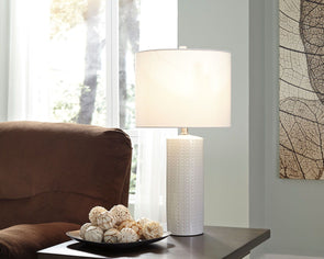 Steuben - White - Ceramic Table Lamp (2/CN)