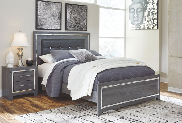 Lodanna - Gray - Queen Panel Footboard