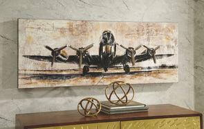 Kalene - Brown/Black - Wall Art