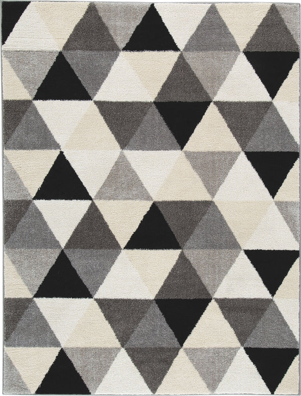 Jamaun - Black/Cream - Medium Rug