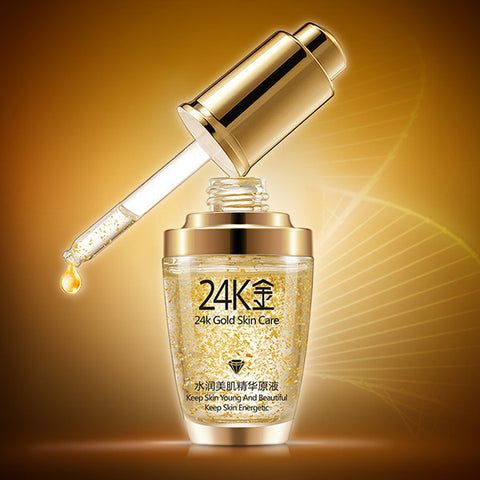 Visiocology : 24k Gold Anti-wrinkle Essential Liquid Essence Keep Young Energetic Skin Care 30ml
