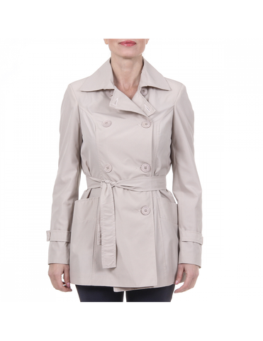 V 1969 Italia Womens Trench NEW MEMORY Coat Jacket