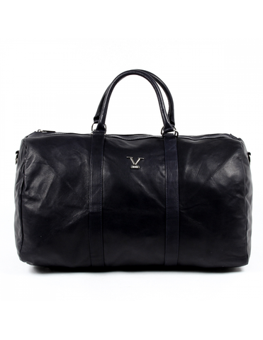 V 1969 Italia Mens Sport Bag Blue BERLINO - Visiocology
