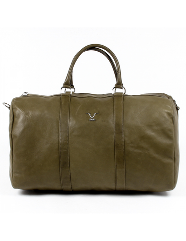V 1969 Italia Mens Sport Bag Dark Green BERLINO - Visiocology