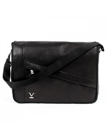 V 1969 Italia Mens Bag Black MOSCA - Visiocology