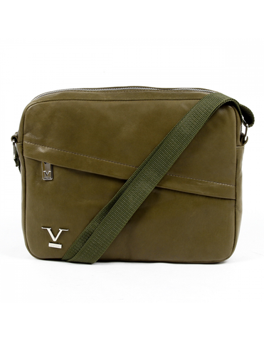 V 1969 Italia Mens Bag Dark Green MONACO - Visiocology