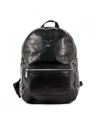 V 1969 Italia Men's Luxury Outdoor Backpack Bag Black PRADA - Visiocology