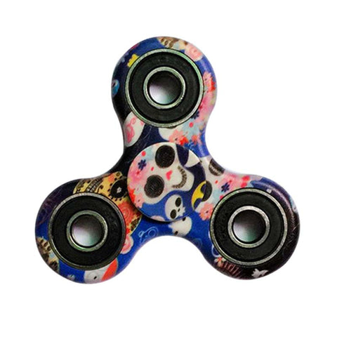 Camouflage Hand Spinner EDC ABS Fidget Spinner Cube Anti Stress Puzzle Toy to Kid Adult Finger Spiner Super Gift - Visiocology