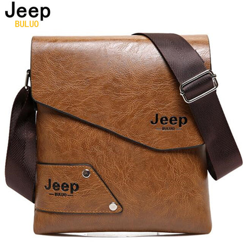 Jeep Buluo A16 Men Messenger Bags Men's Crossbody Sacoche Homme Satchel Man Satchels bolsos Men's Travel Shoulder Bags